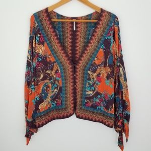 Free People | Catch Me if You Can Cropped Blouse